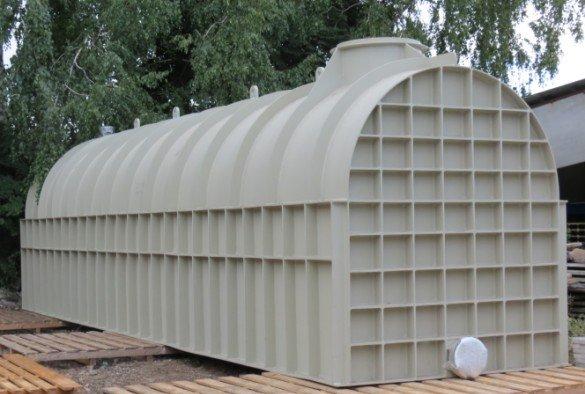 pozharnaya emkost 2 - Пожарная емкость (резервуар) для воды